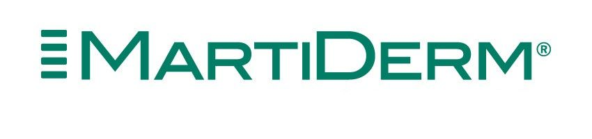 martiderm cosmetics logo client